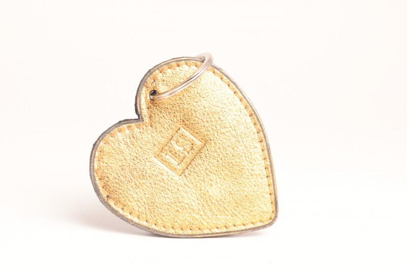 LS Artisan Maroquinier, article porte-clefs coeur , image 1