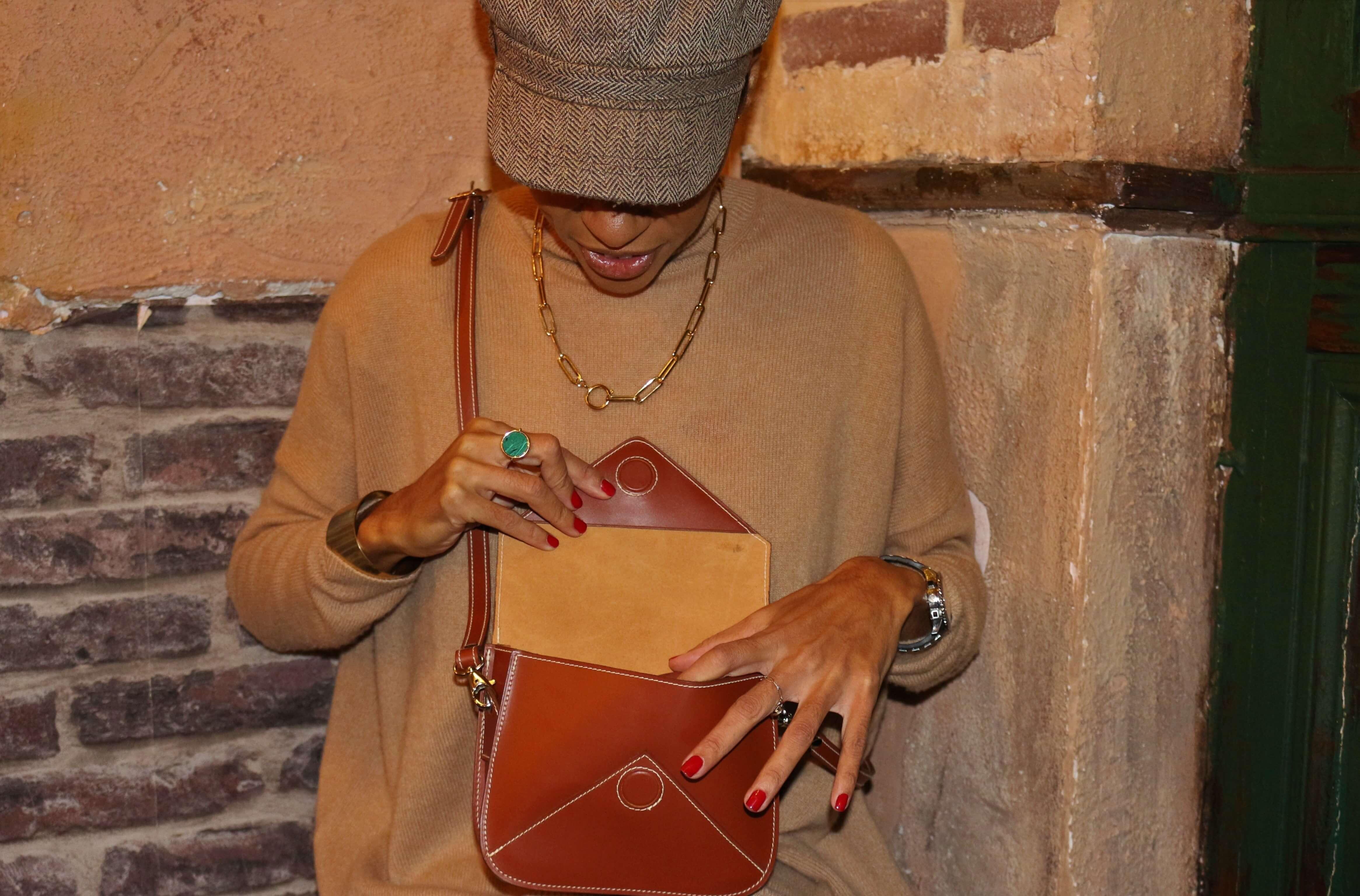 ls artisan maroquinier lyon, Mini INES, image 1