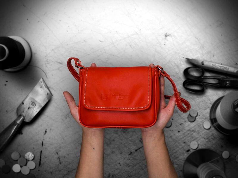 ls artisan maroquinier lyon, Baby Bag Cecile, image 1